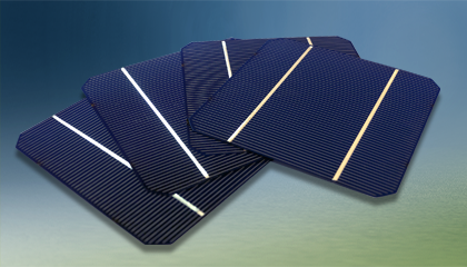 Solar Mono wafers - Solar cells convert the energy of sunlight directly into electricity by the photovoltaic effect. Assemblies of cells are used to create solar modules, also known as solar panels.